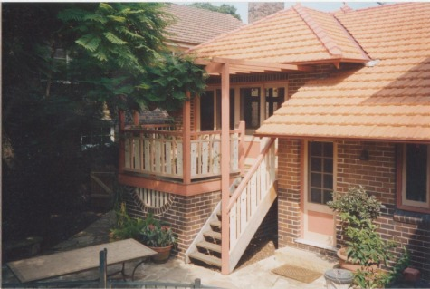 Strathfield Federation extension 2001
