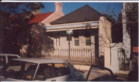 after Victorian Restoration Annandale 1998